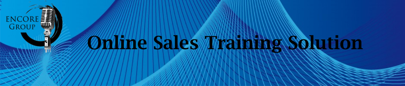 Online sales training Solution