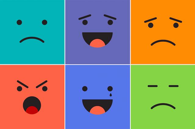 Emotions. (Phrasebook)